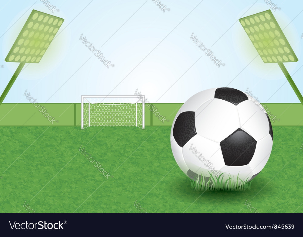 Soccer stadium vector | Price: 3 Credit (USD $3)