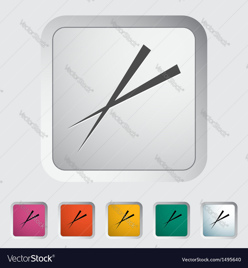 Chopsticks vector | Price: 1 Credit (USD $1)