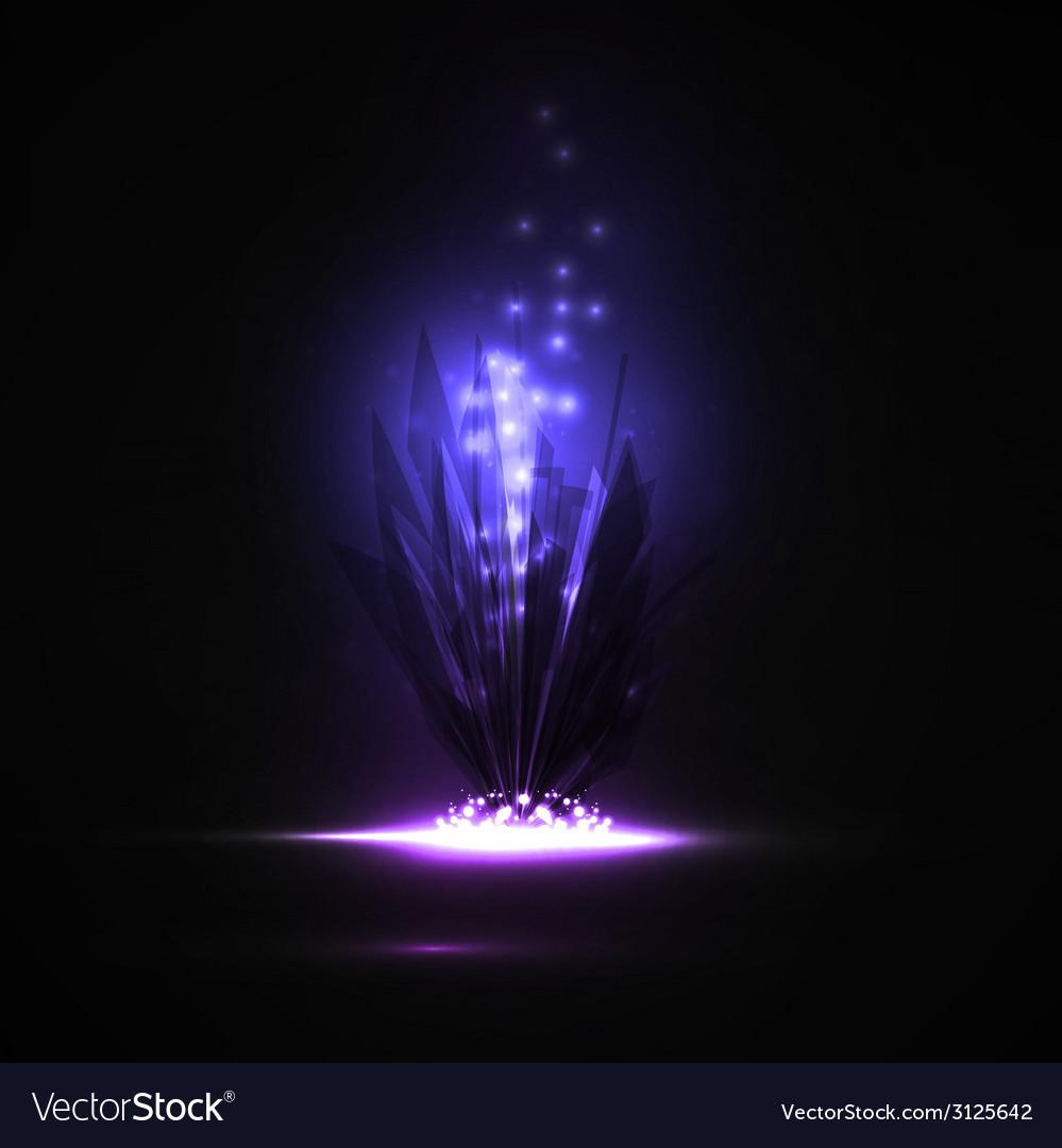 Abstract magic crystal vector | Price: 1 Credit (USD $1)