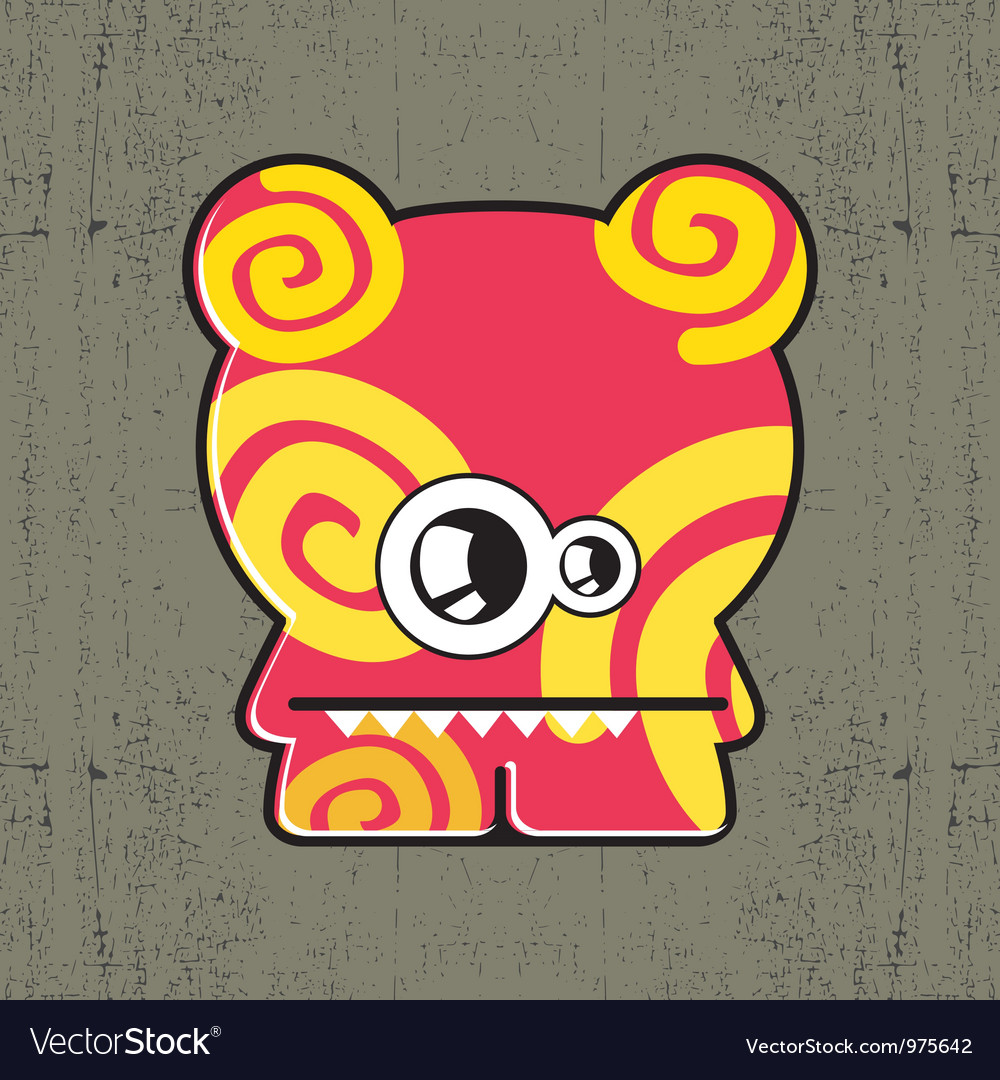 Monster vector | Price: 1 Credit (USD $1)