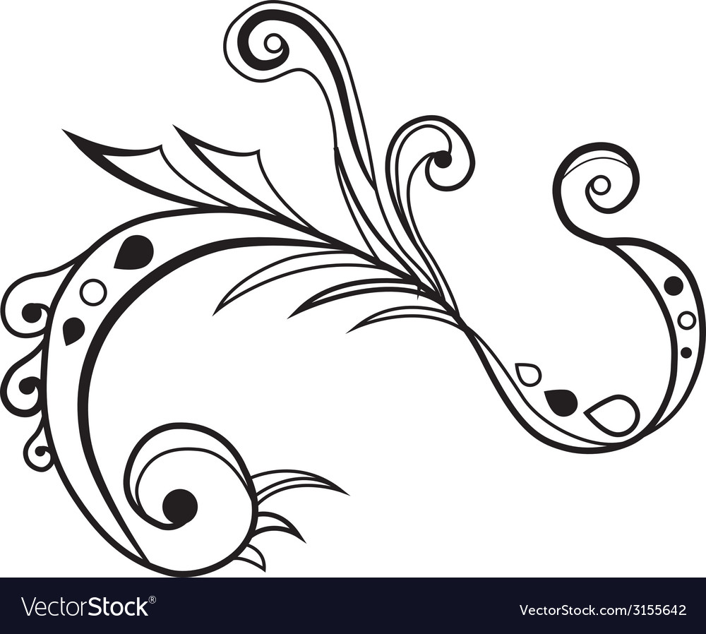 Swirl vector | Price: 1 Credit (USD $1)