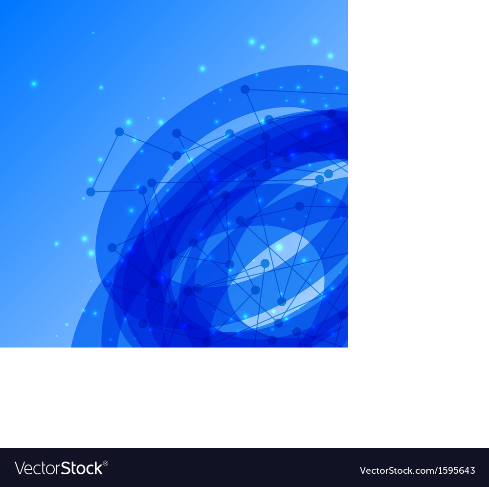 Abstract geometric blue background vector | Price: 1 Credit (USD $1)