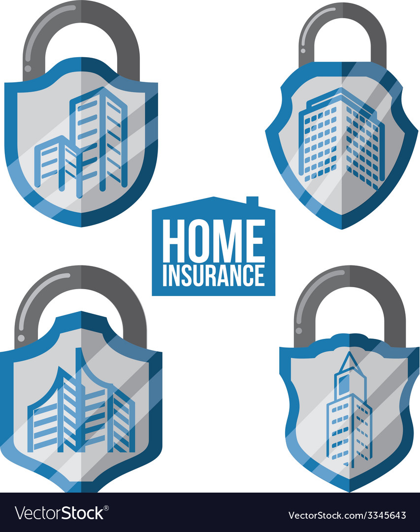 Home insurance design vector | Price: 1 Credit (USD $1)