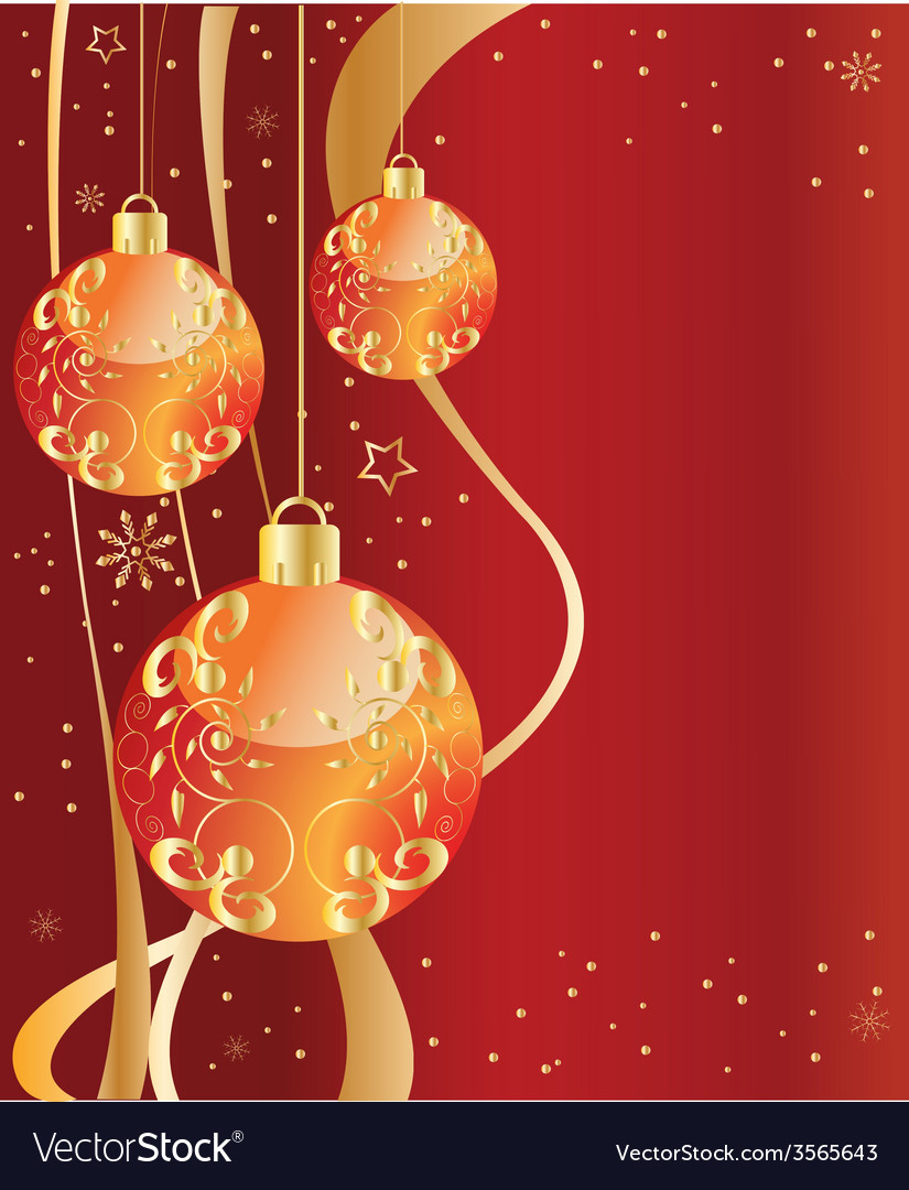 Ornate ornaments red vector | Price: 1 Credit (USD $1)
