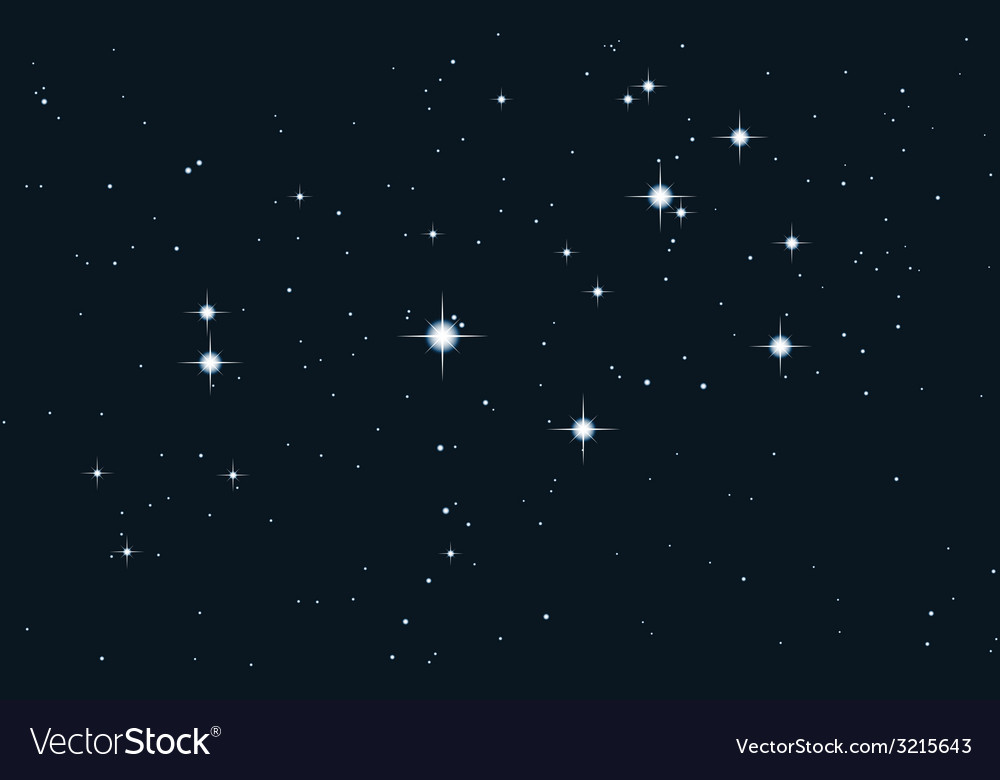 Star galaxy - pleiades vector | Price: 1 Credit (USD $1)