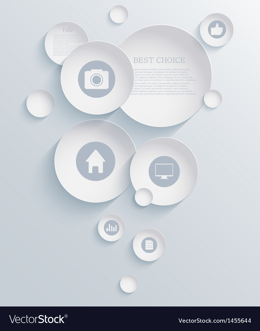 Infographic background design eps10 vector | Price: 1 Credit (USD $1)
