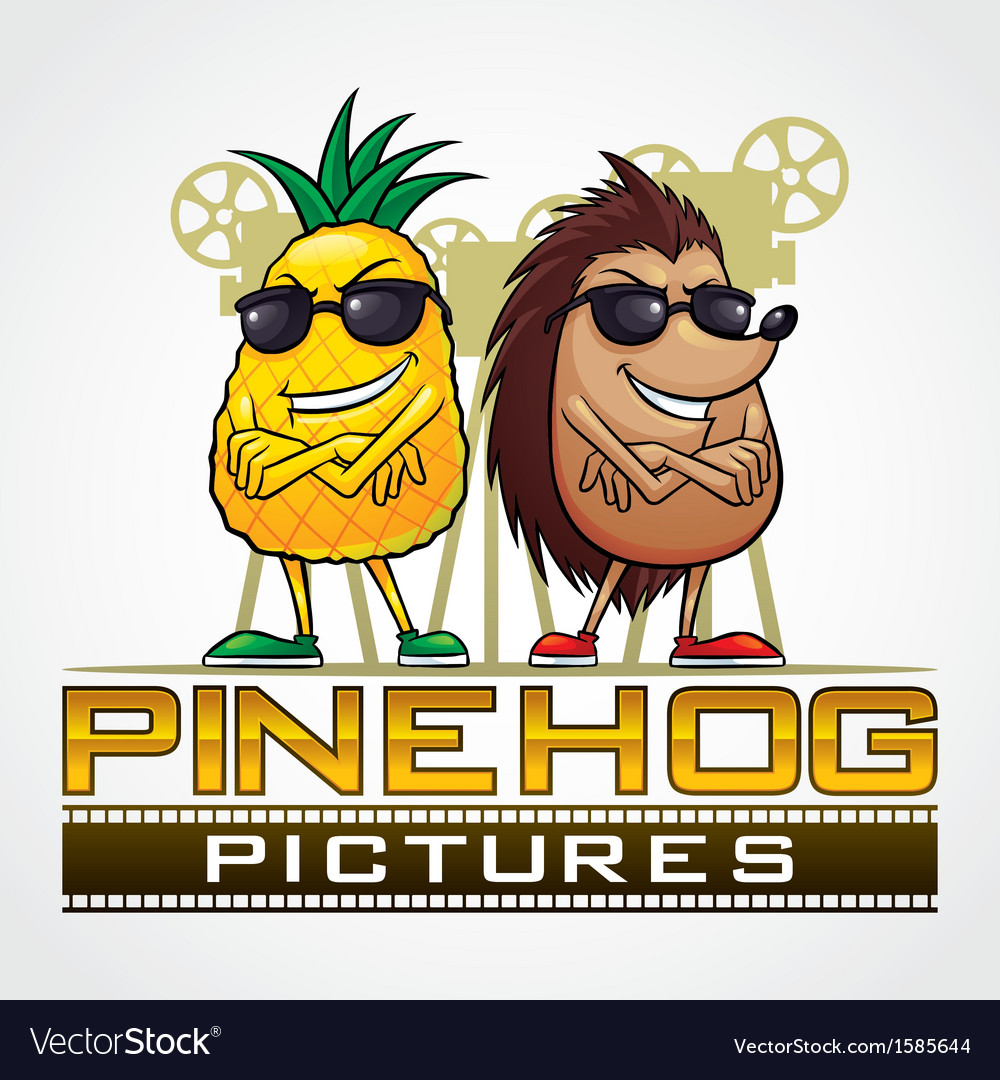 Pine hog pictures vector | Price: 1 Credit (USD $1)