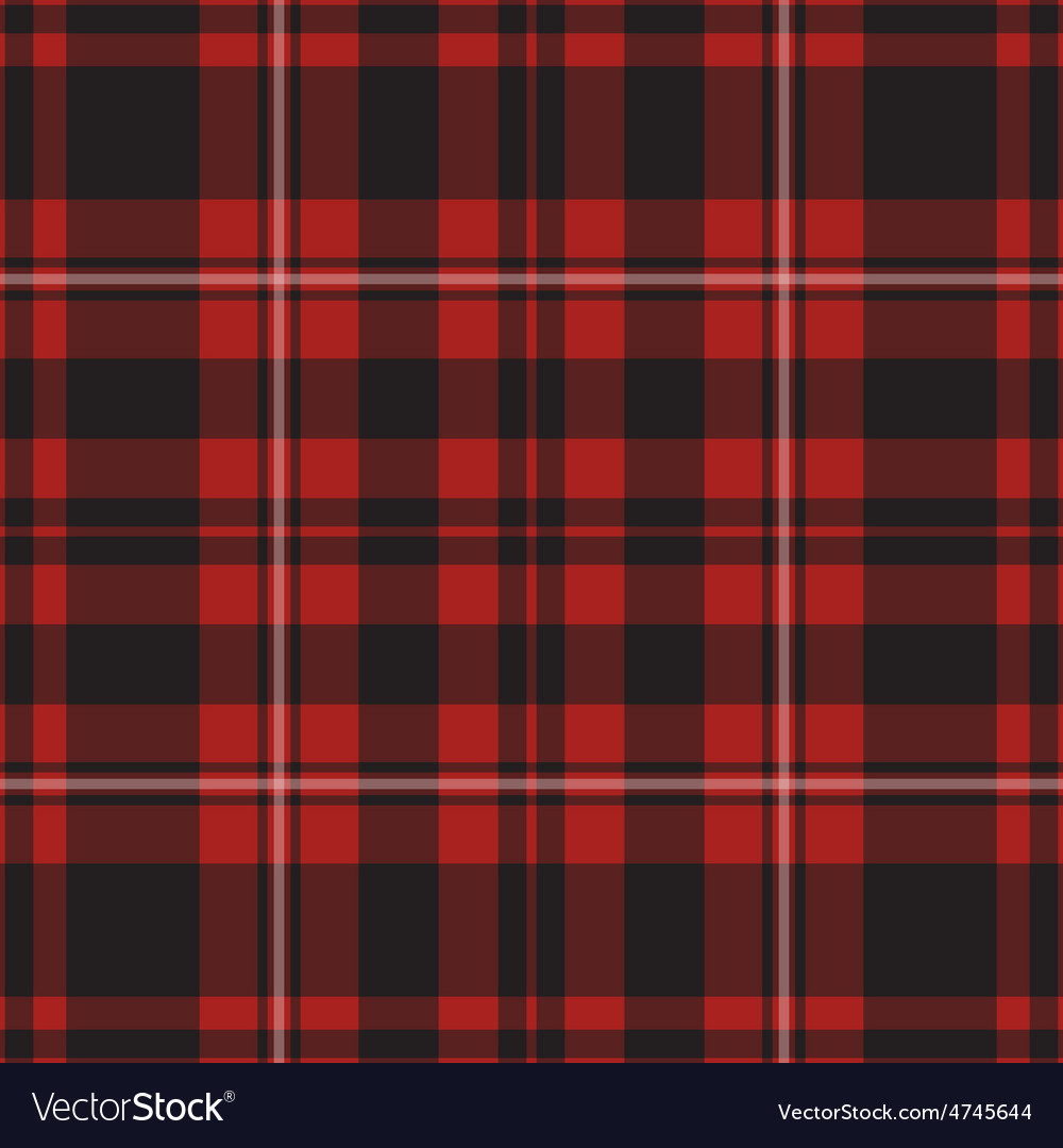 Seamless - red tartan vector | Price: 1 Credit (USD $1)