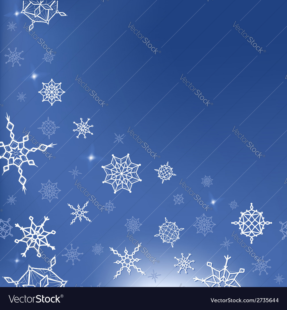 Winter christmas new year template for card vector | Price: 1 Credit (USD $1)