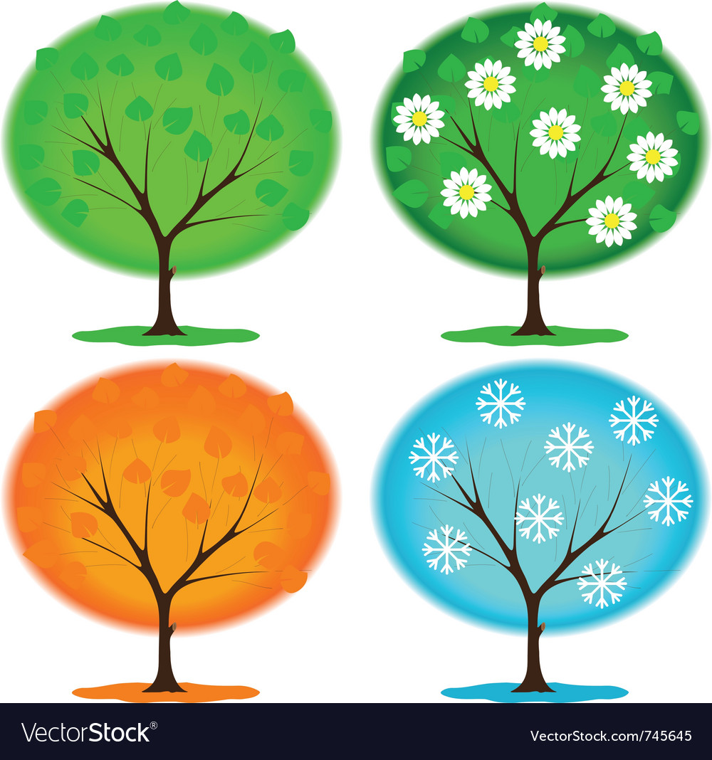 Icon seasons vector | Price: 1 Credit (USD $1)
