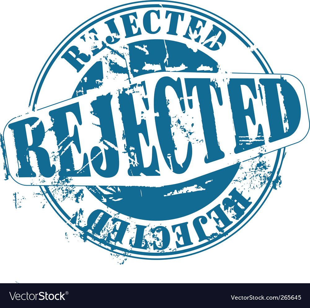 Rejected rubber stamp vector | Price: 1 Credit (USD $1)