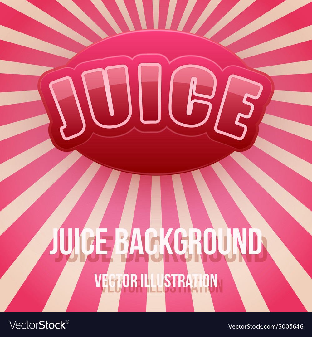 Background of label for berry juice bright premium vector | Price: 1 Credit (USD $1)