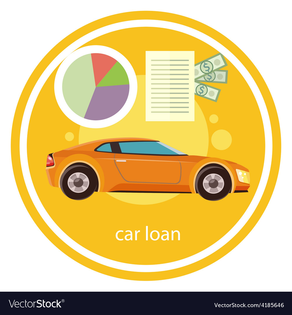 Car loan approved vector | Price: 1 Credit (USD $1)