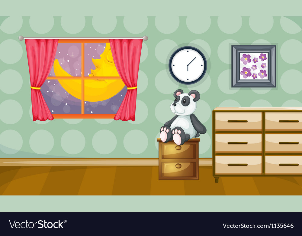 Childrens room vector | Price: 1 Credit (USD $1)