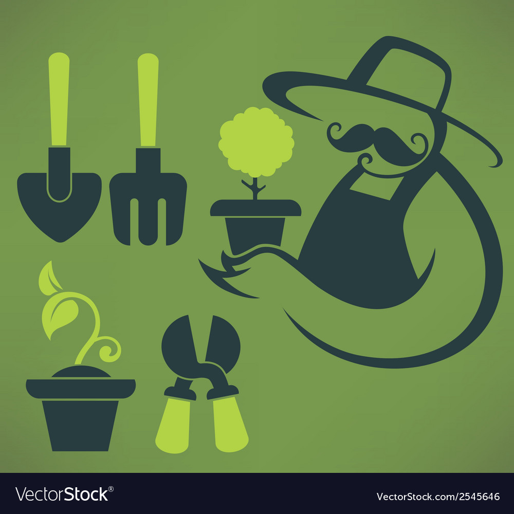 Garden and farm vector | Price: 1 Credit (USD $1)