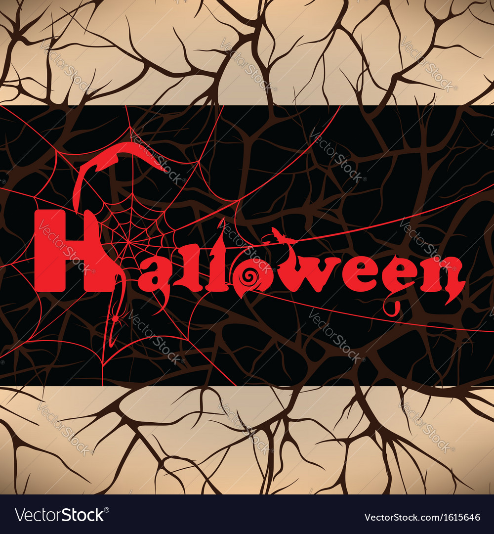 Halloween design background vector | Price: 1 Credit (USD $1)