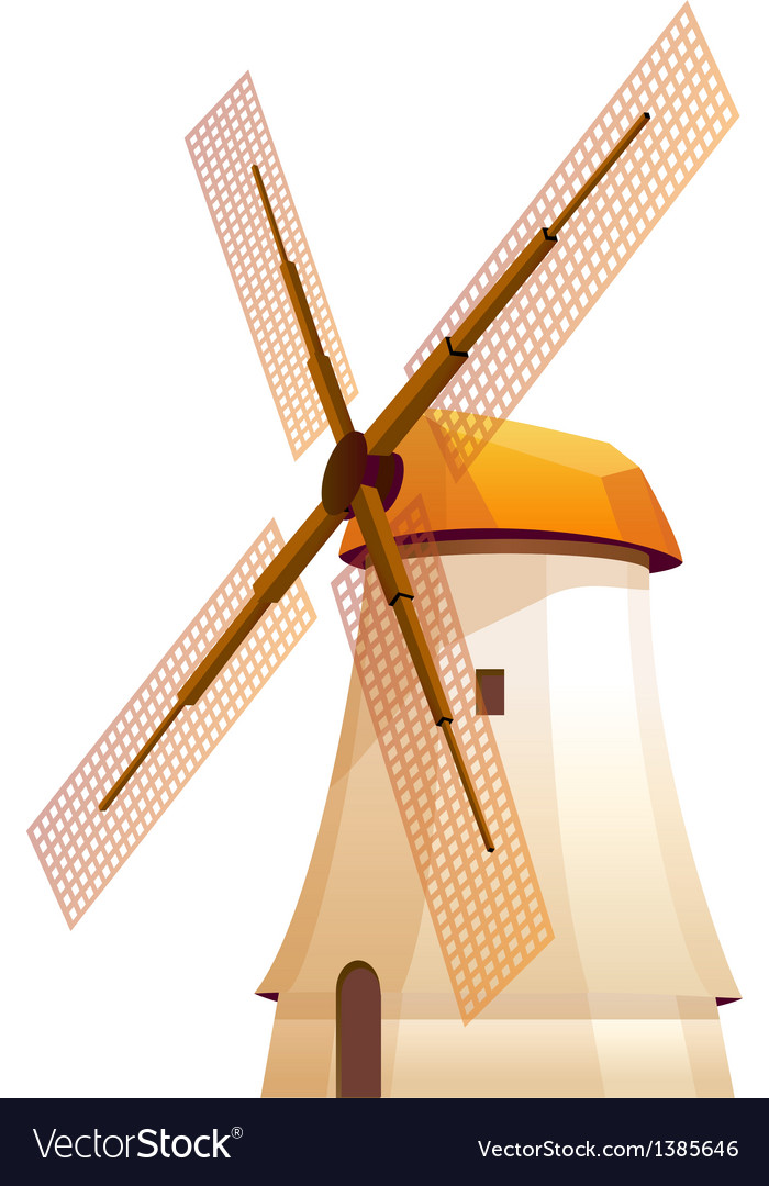 Icon windmill vector | Price: 1 Credit (USD $1)