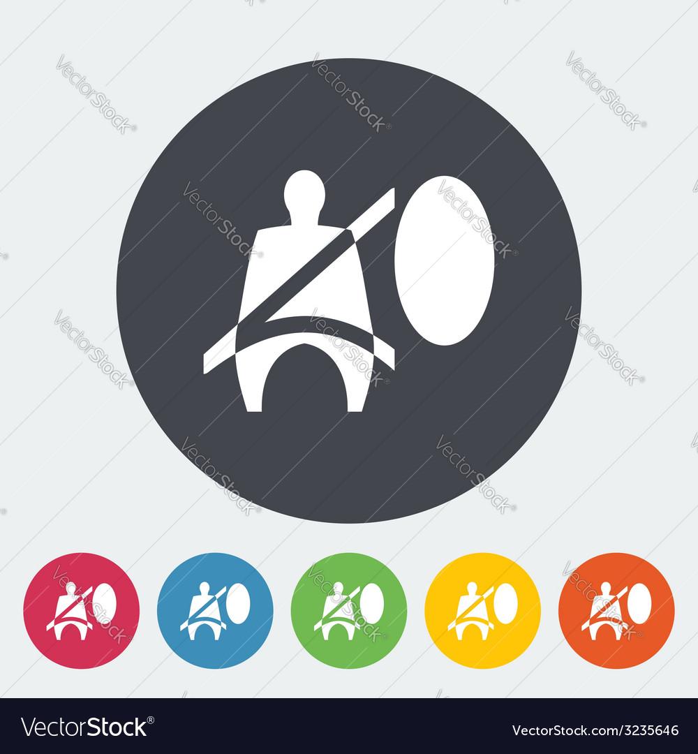 Seat belt vector   Price: 1 Credit (USD $1)