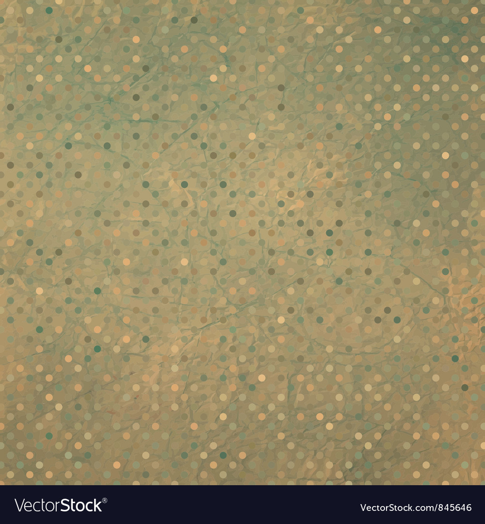 Vintage dots pattern vector | Price: 1 Credit (USD $1)