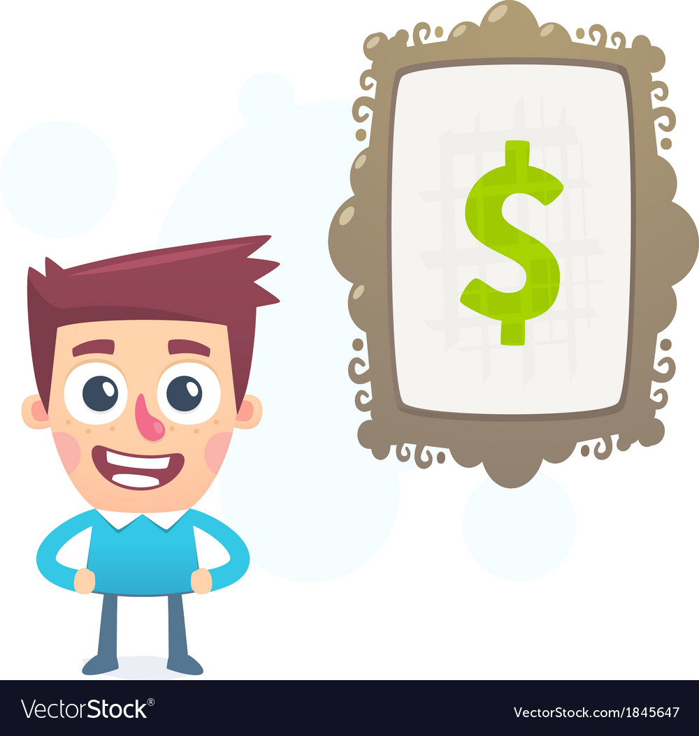 Art to make money vector | Price: 1 Credit (USD $1)