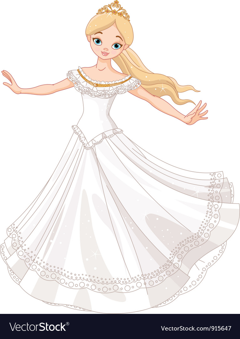 Dancing princess vector | Price: 3 Credit (USD $3)