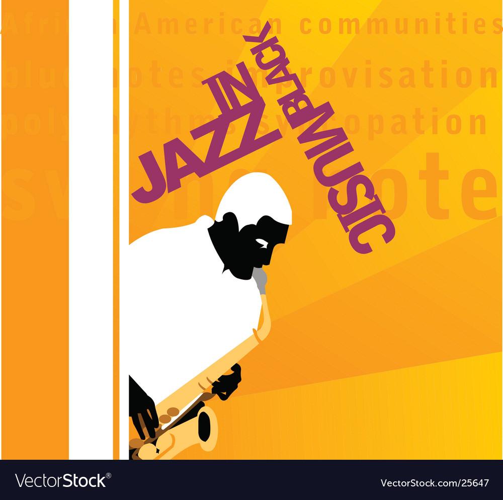 In jazz vector | Price: 1 Credit (USD $1)