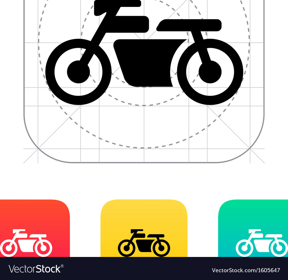 Motorbike icon vector | Price: 1 Credit (USD $1)