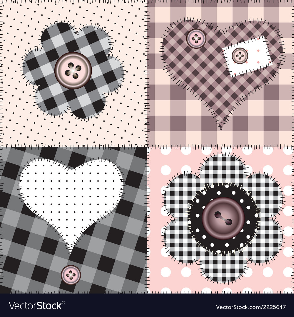 Patchwork amour vector | Price: 1 Credit (USD $1)