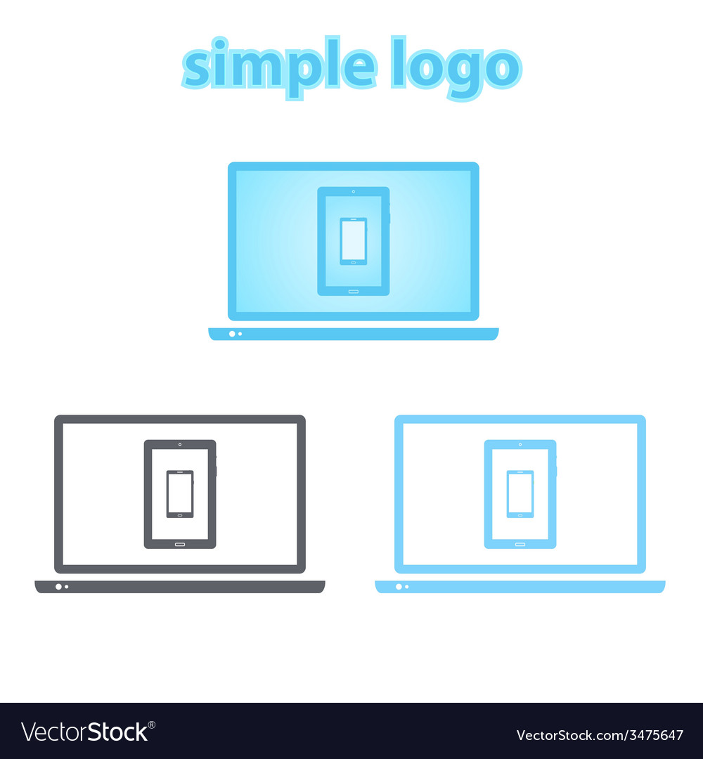 Simple logo vector | Price: 1 Credit (USD $1)