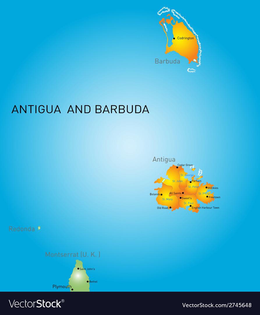 Antigua and barbuda vector | Price: 1 Credit (USD $1)