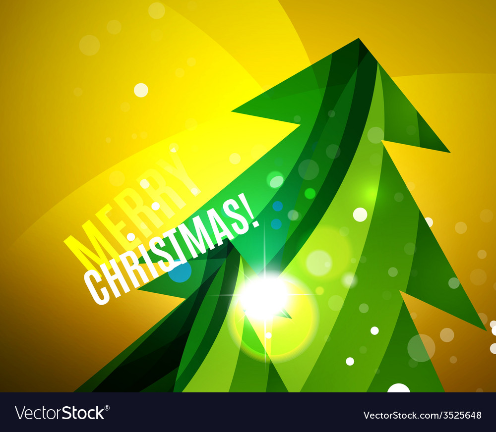 Colorful bright shiny chrismas card vector | Price: 1 Credit (USD $1)