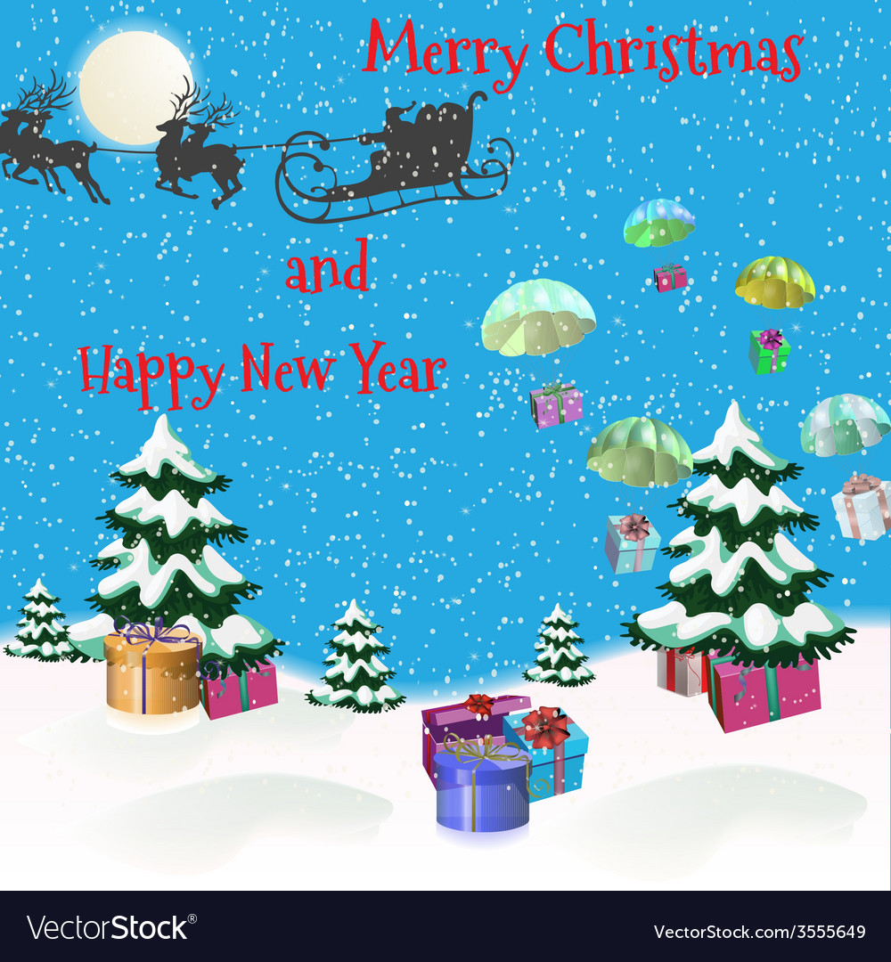 Christmas picture vector   Price: 1 Credit (USD $1)