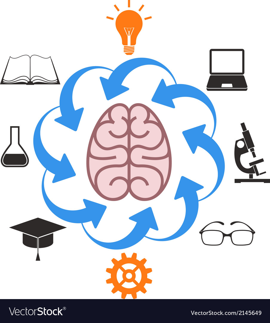Education science vector | Price: 1 Credit (USD $1)