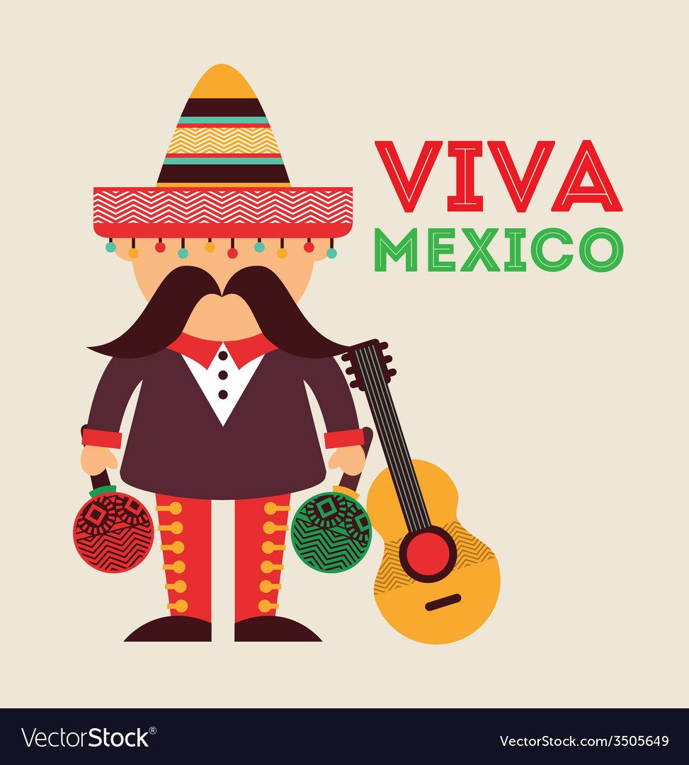 Mexican icon design vector | Price: 1 Credit (USD $1)