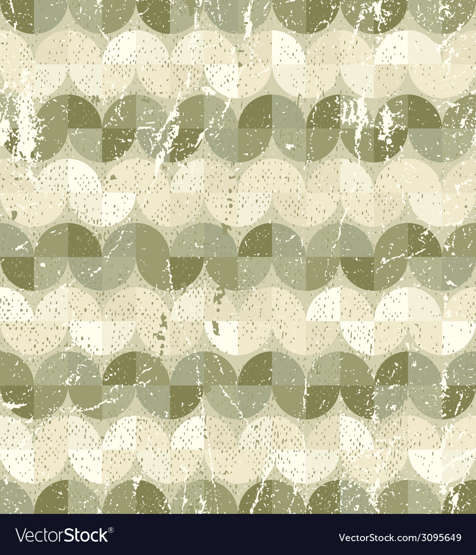 Old style tiles seamless background pattern design vector | Price: 1 Credit (USD $1)