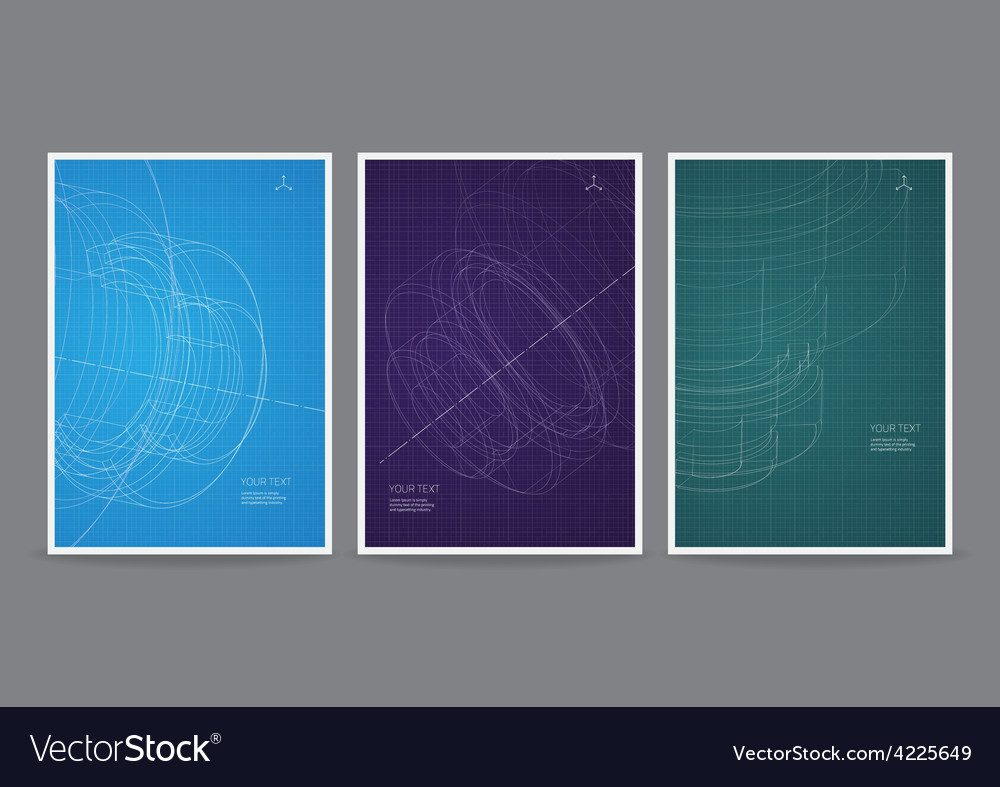 Technology flyer design vector | Price: 1 Credit (USD $1)