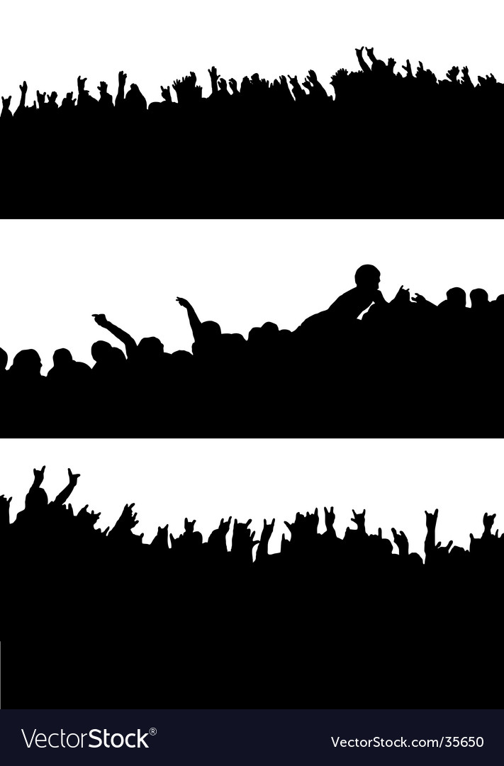 Crowd variation vector | Price: 1 Credit (USD $1)