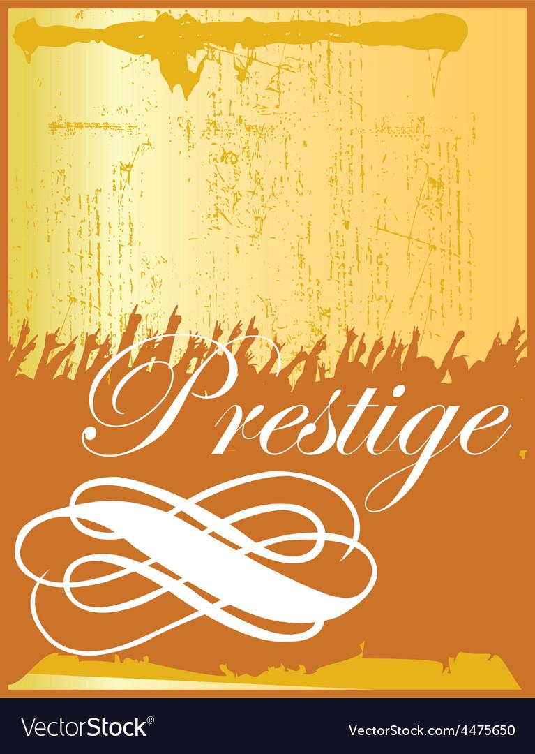 Prestige vector | Price: 1 Credit (USD $1)