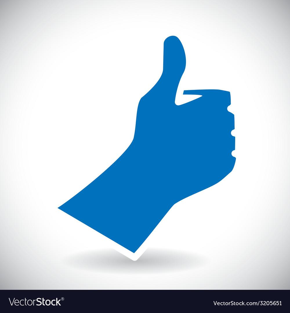 Hand gesture design vector   Price: 1 Credit (USD $1)