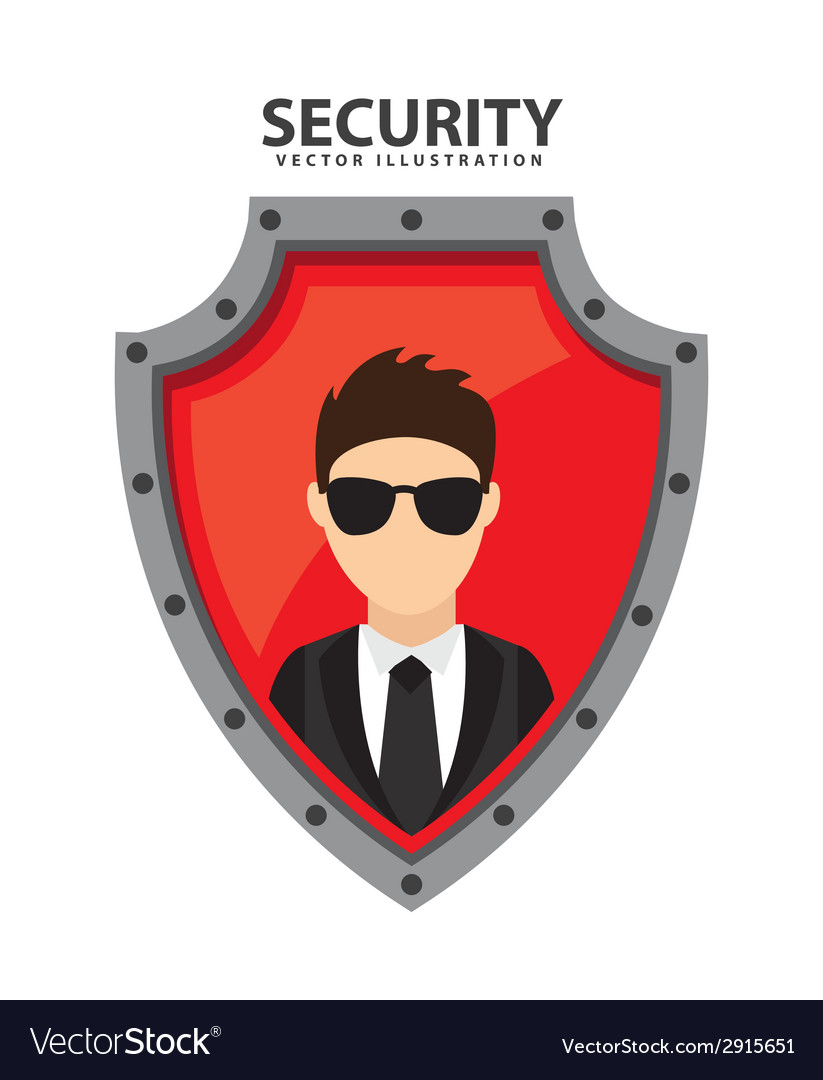 Security system vector | Price: 1 Credit (USD $1)