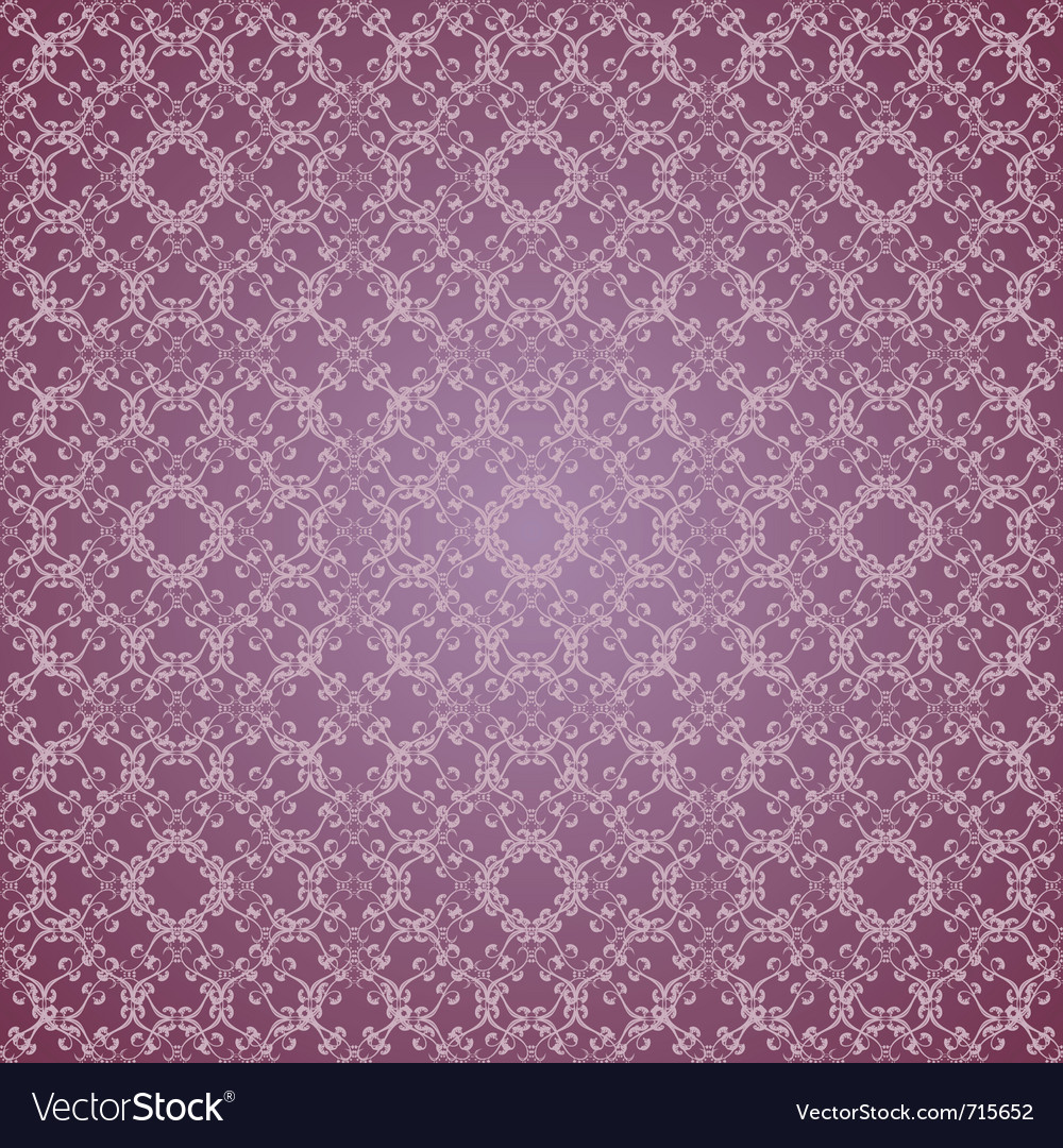 Floral design lilac seamless vector | Price: 1 Credit (USD $1)