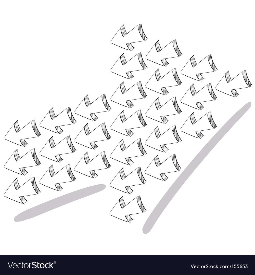 3d arrows vector   Price: 1 Credit (USD $1)