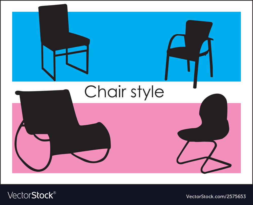 Chair style vector | Price: 1 Credit (USD $1)