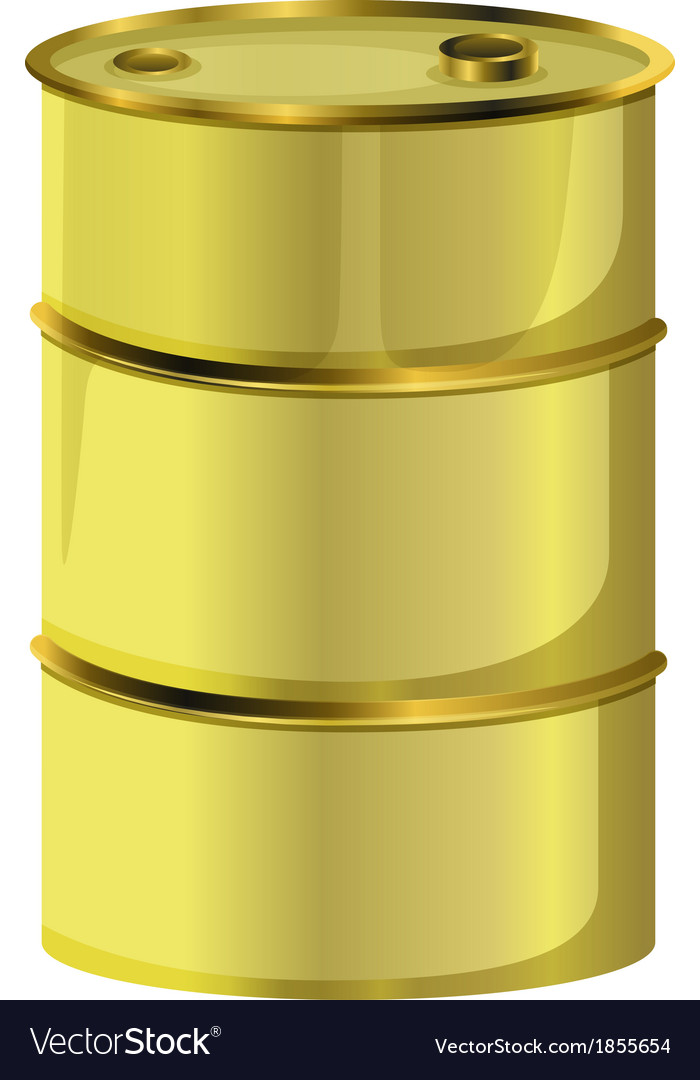 An oil barrel vector | Price: 1 Credit (USD $1)