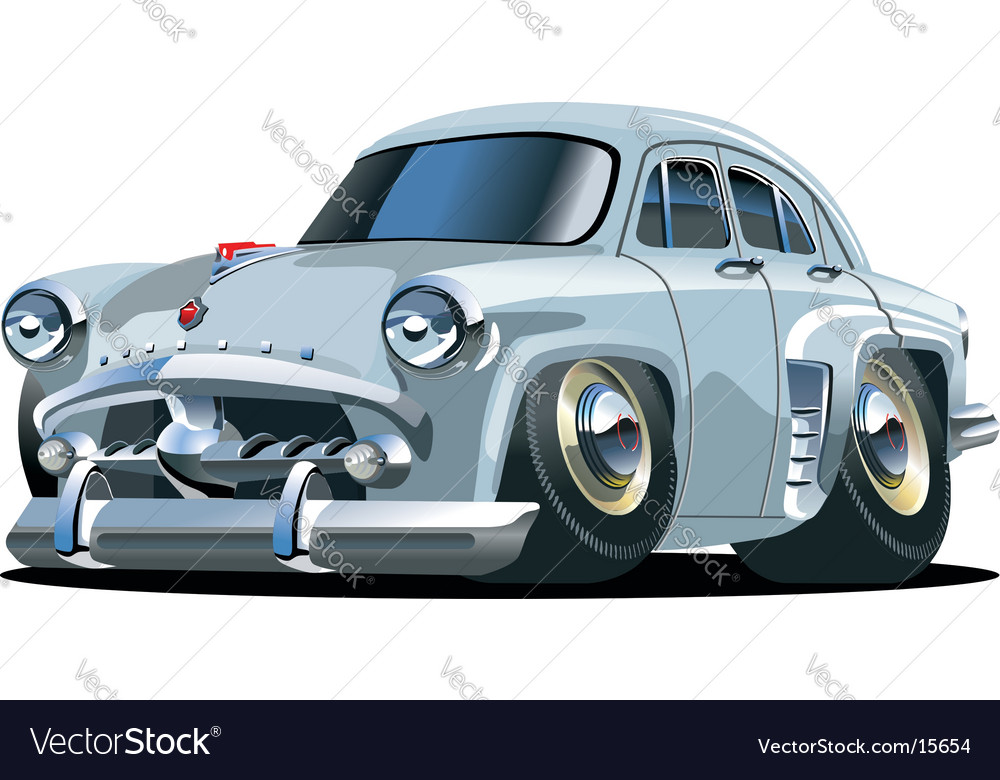 Cartoon car vector | Price: 3 Credit (USD $3)