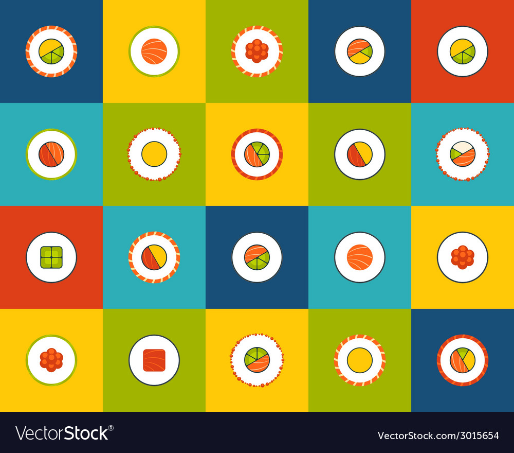 Flat icons set 17 vector | Price: 1 Credit (USD $1)