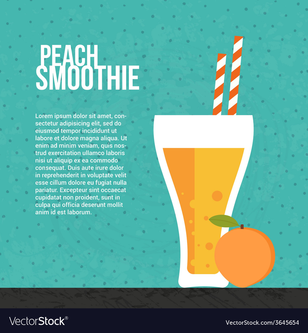 Fresh smoothie vector | Price: 1 Credit (USD $1)