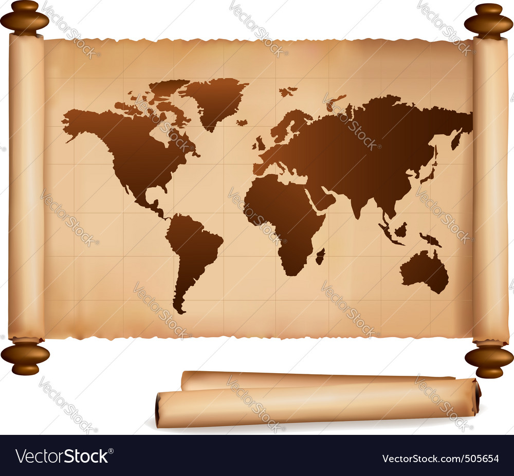 Old map and old papers vector | Price: 3 Credit (USD $3)