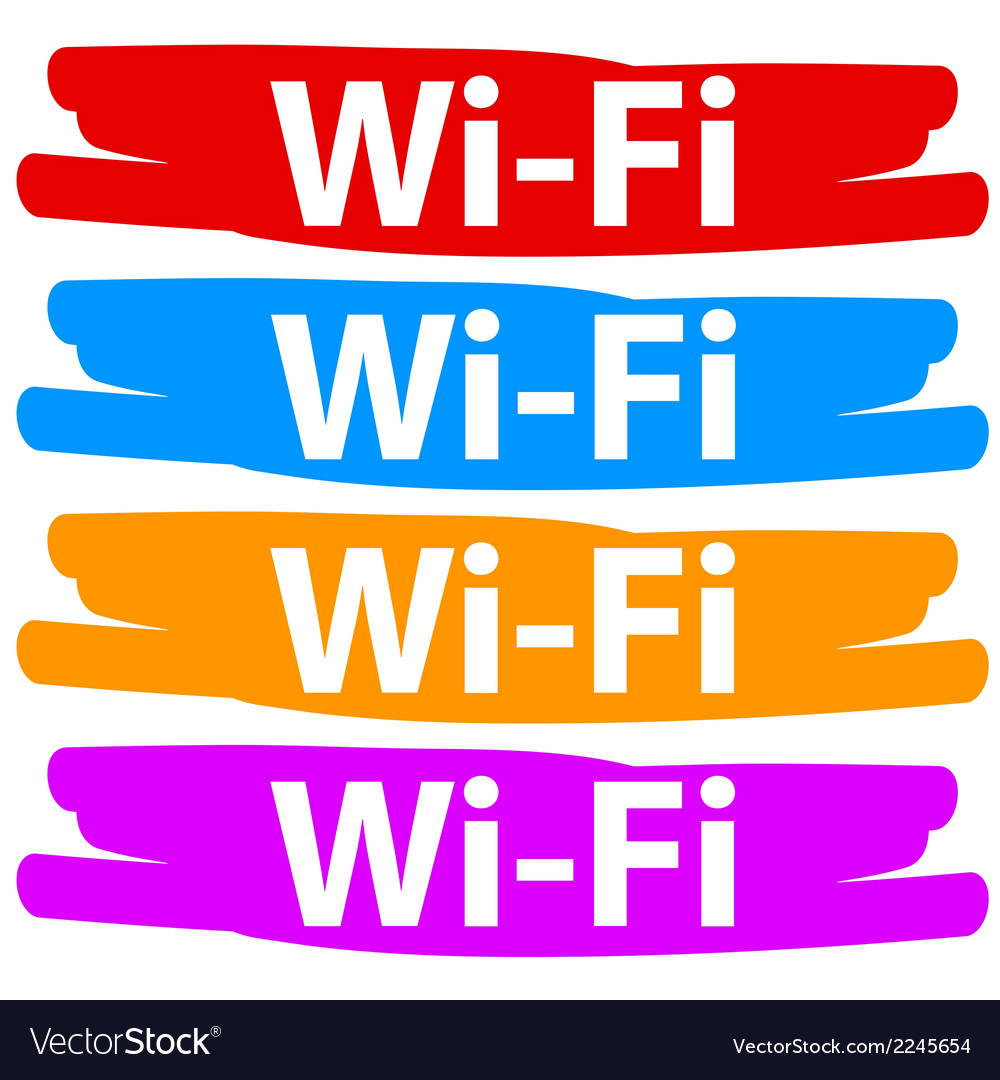 Wi-fi banners set vector | Price: 1 Credit (USD $1)