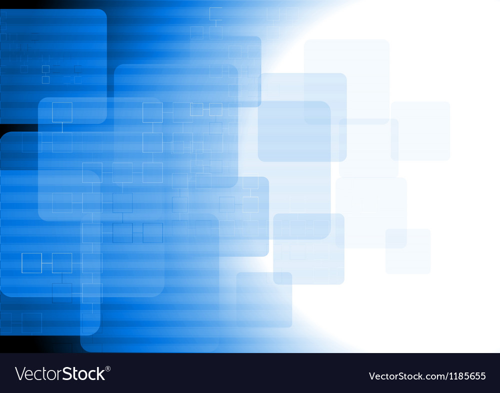 Blue tech background vector | Price: 1 Credit (USD $1)